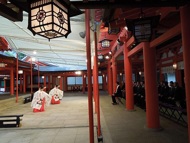 生田神社にて新年祈願祭
