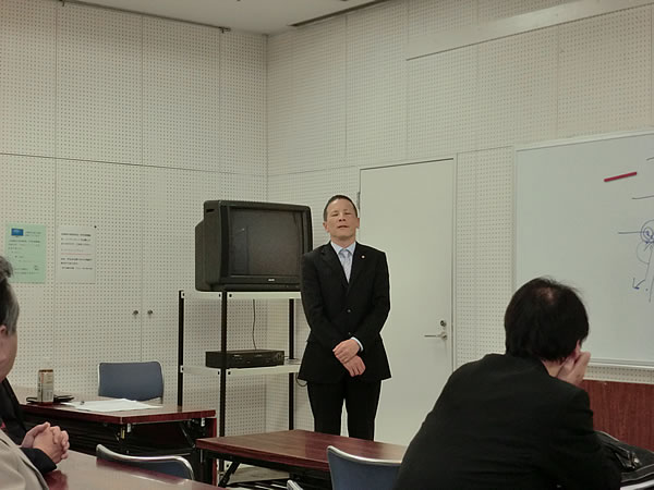 佐田野副会長挨拶