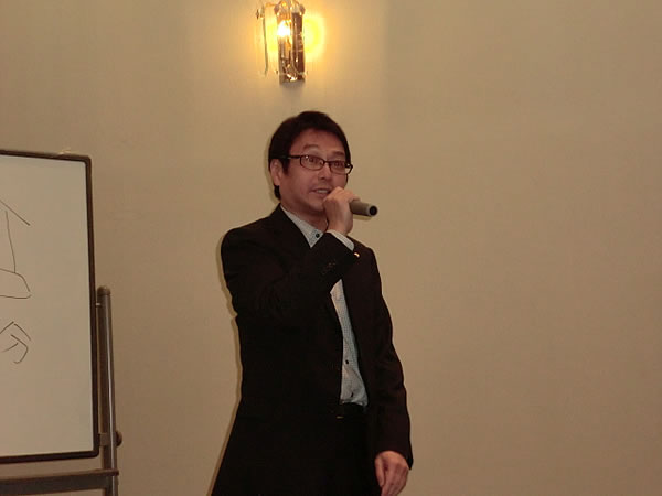 濱野監査閉会の挨拶