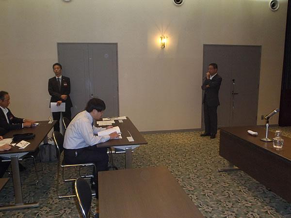 BC講師例会 三木副会長挨拶