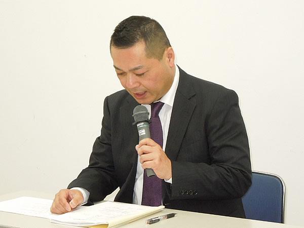 安田 総会議長(副会長)