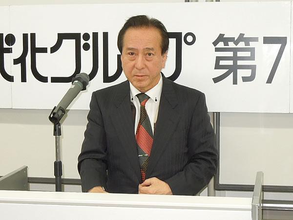 橋本 広報・BC部会長