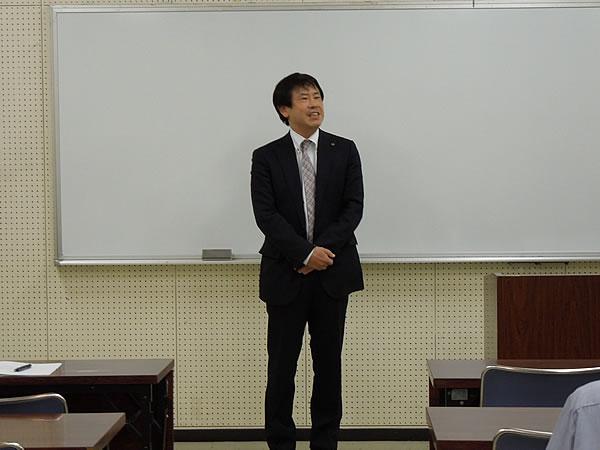 高野会長の挨拶