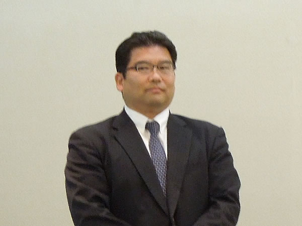 第一部講師 森口 忠之 先生