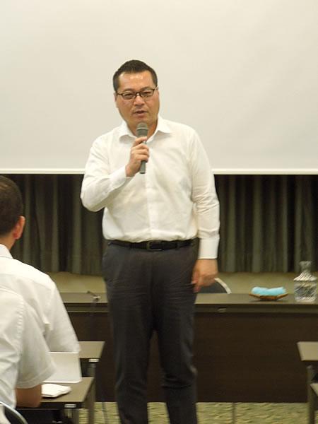 安田 副会長 閉会の挨拶
